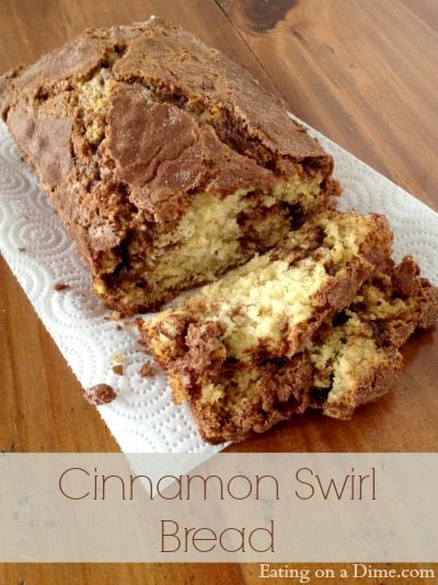 How to make Cinnamon Swirl Bread