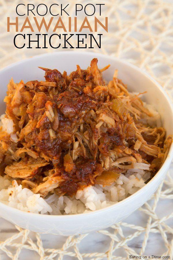 Crock Pot Hawaiian Bbq Chicken Eating On A Dime