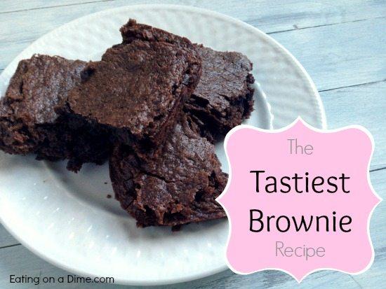 the tastiest brownie recipe