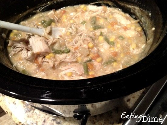 Crockpot Chicken pot pie recipe
