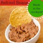 how to make refried beans in the crockpot