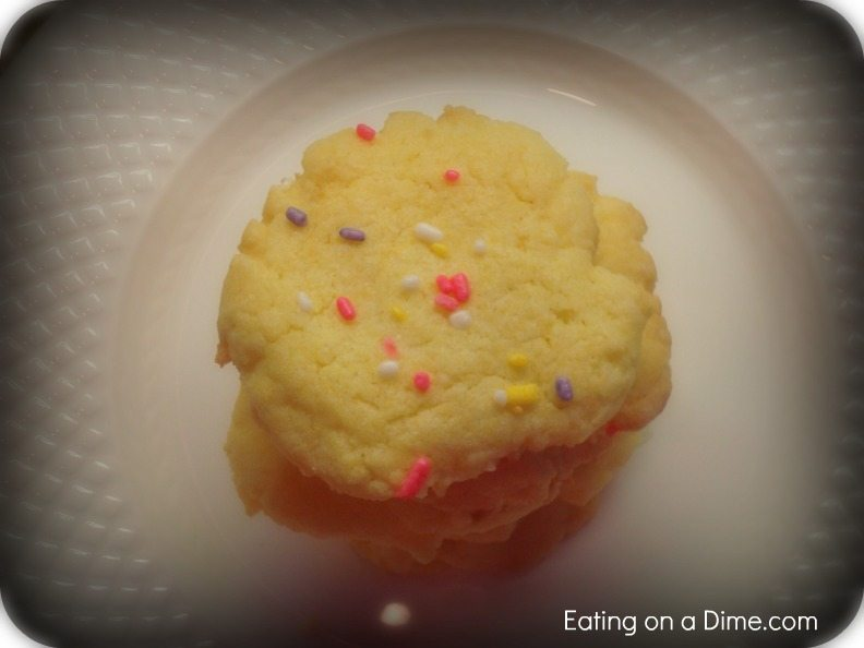 Easy Cake Cookie Recipe