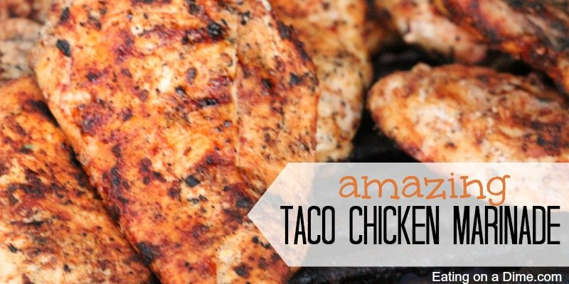 taco chicken marinade facebook image