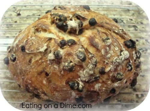 Crusty Artisan Bread - Eating on a Dime
