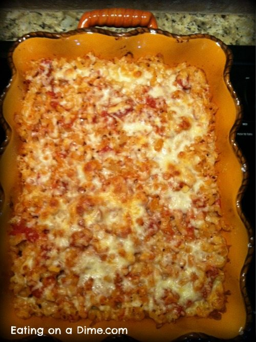 Easy Italian Macaroni & Cheese Dinner