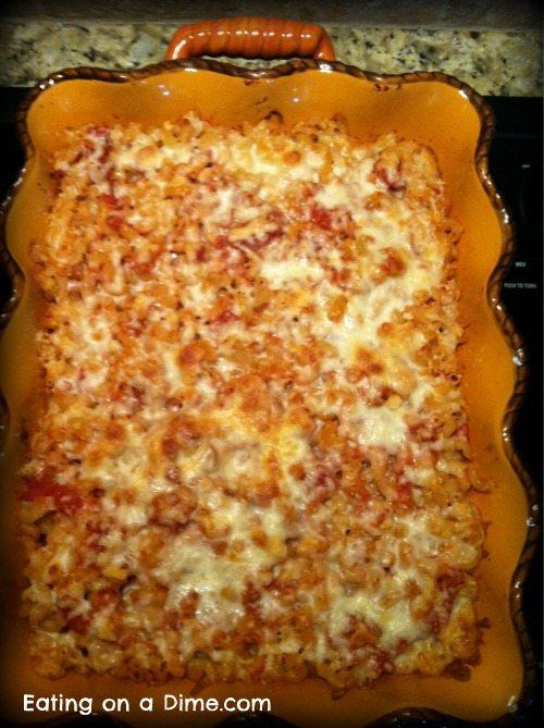 Easy Italian Macaroni & Cheese Dinner 2