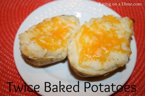 twice bakes potatoes