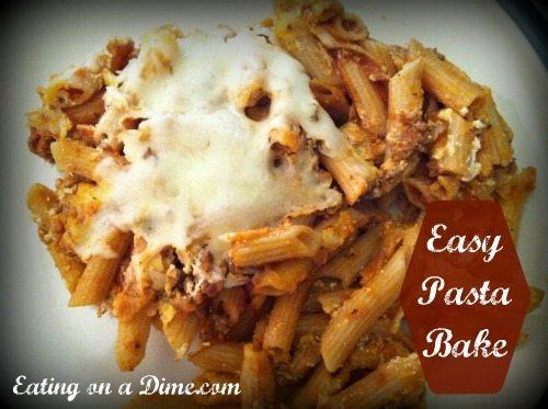 Easy Pasta Bake 1