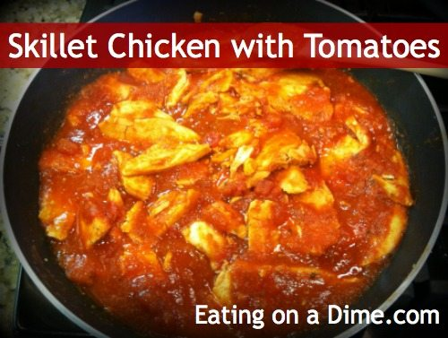 Easy Skillet Chicken with Tomatoes