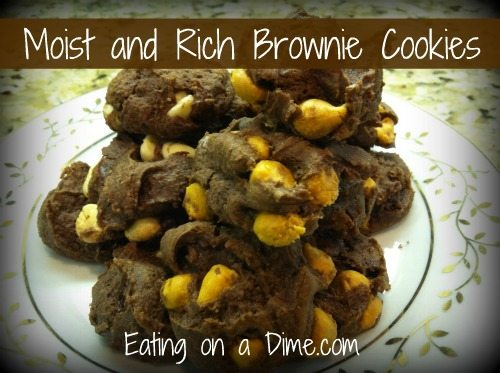 Moist and Rich Brownie Cookies 1
