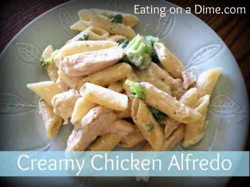 creamy chicken alfredo 1