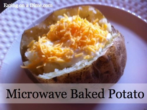 Microwave Baked Potatoes