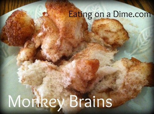 Monkey Brains (Pull Apart Bread)
