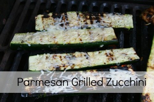 Parmesan Grilled Zucchini