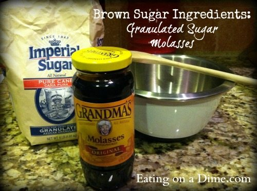 Make Your Own Brown Sugar