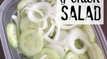 cucumber onion salad recipe square