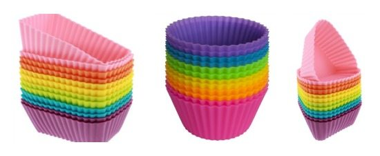 save on school lunches - silicone cups