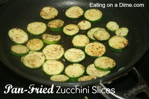 Pan-Fried Zucchini Slices