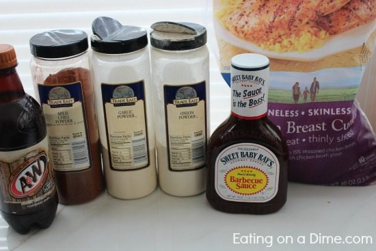 Root Beer chicken ingredients