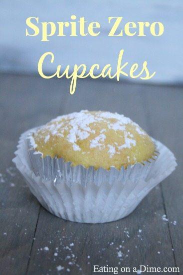 Sprite Zero Cupcakes recipe