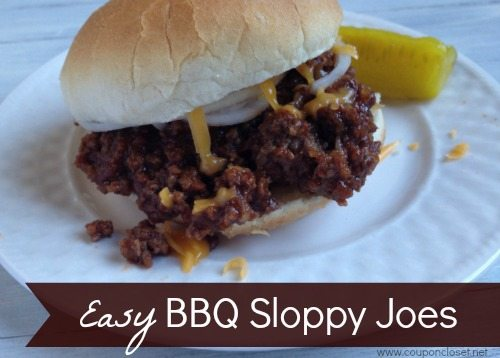 BBQ Sloppy Joes Recipe
