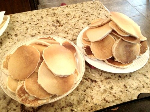 freeze-pancakes