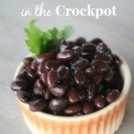 how to cook blackbeans in the crockpot