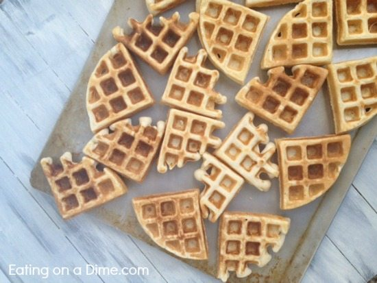 how to freeze waffles easily