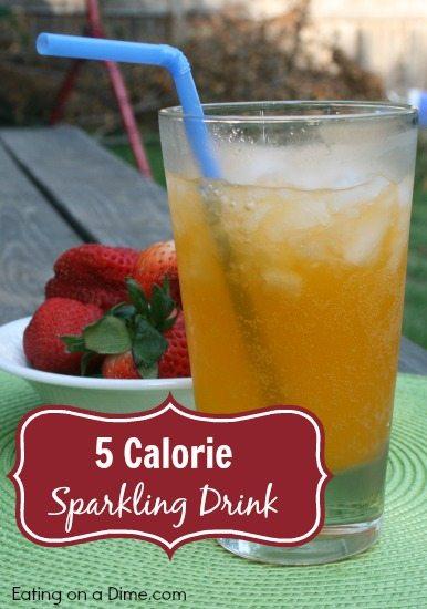 5 calorie sparkling drink