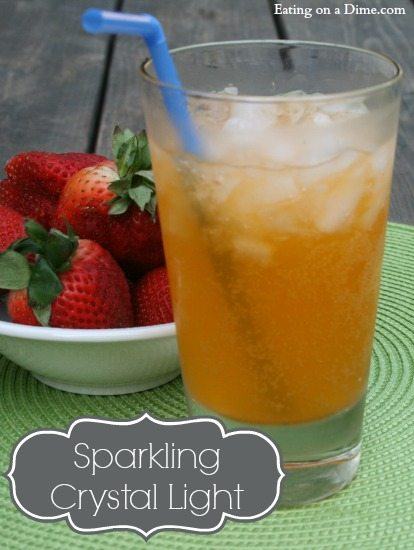 Sparkling crystal light drink recipe
