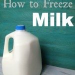 how-to-freeze-milk