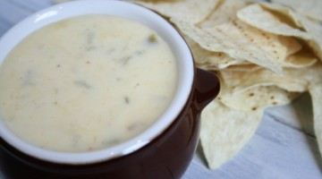 white mexican cheese dip