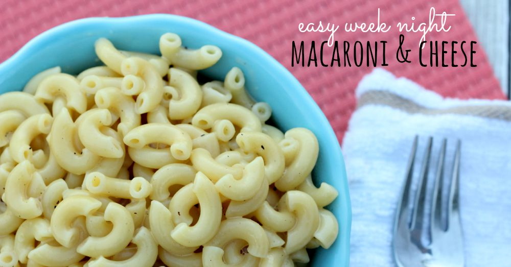 easy macaroni and cheese recipe - facebook