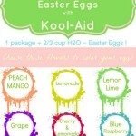 color Easter Eggs with Kool-Aid guide