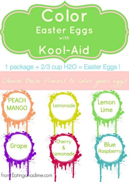 Learn how to dye Easter eggs with kool aid. No special kits needed and your kids will have a blast!Dying easter eggs with kool aid is easy.