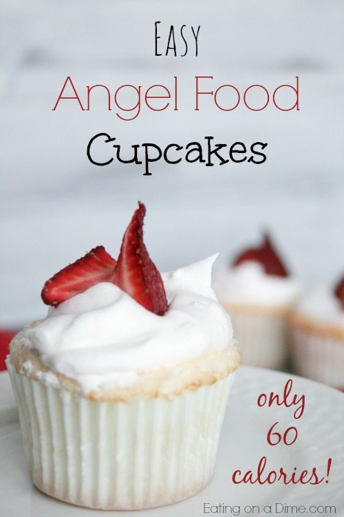 Angel Food Cake Cupcake Calories