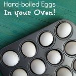 how to make hardboiled eggs in your oven