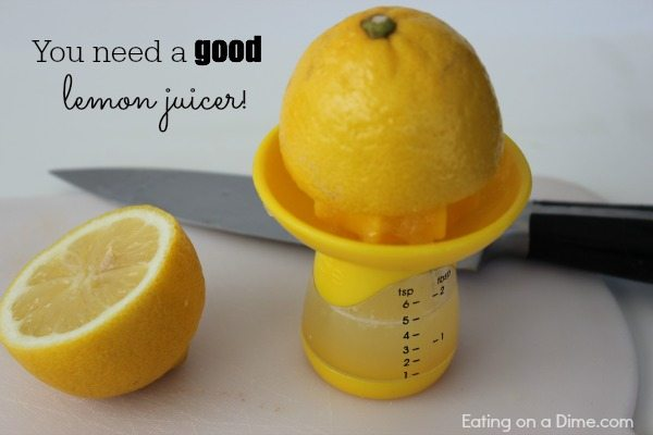 you need a good lemon juicer