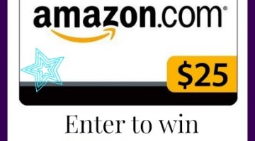 $25 amazon gift card on eatingonadime