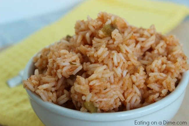 Easiest Spanish Rice Recipe