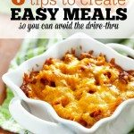 tips for easy meals