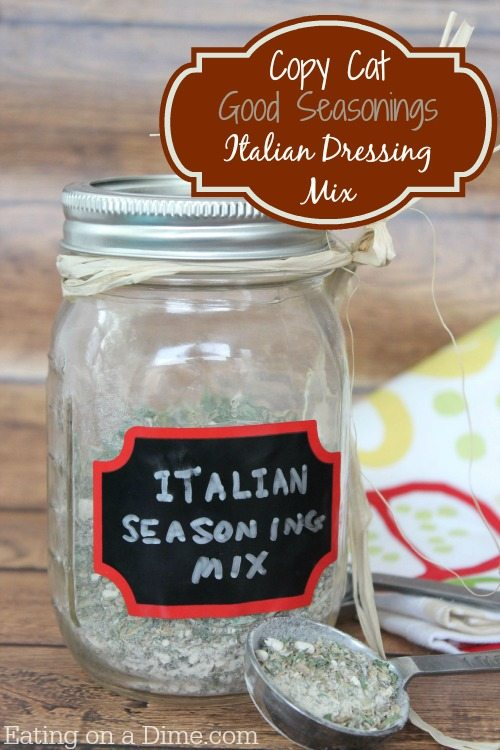 copycat good seasoning italian dressing mix