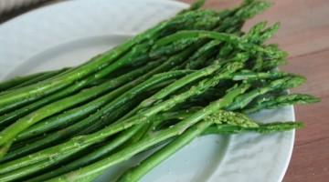 garlic lime asparagus