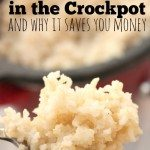 crock pot rice
