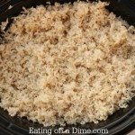 crock pot rice - all done