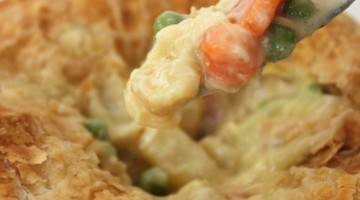 freezer friendly chicken pot pie