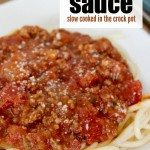 authentic crock pot spaghetti sauce