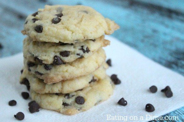 Cake Mix Chocolate Chip Cookie Recipe -Cake Mix chocolate chip cookies