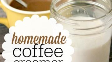 homemade coffee creamer post - square