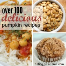 huge roundup of pumpkin recipes